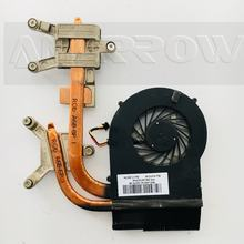 Original for HP pavilion DV6 DV7 DV6-3000 dv7-4000 cooling heatsink with fan 610777-001 610778-001 637610-001(China)