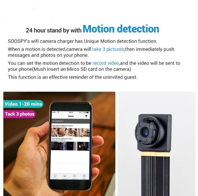 1080P Wireless WiFi Mini Camera Module DIY Indoor Outdoor Portable Small Security Camera Nanny Cam With Motion Detection