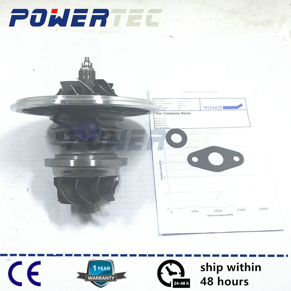 Balanced turbine cartridge core GT22 turbocharger CHRA for ARGALE Volare w8 w9 eletronico 733676-0003 / 733676-5003S / 733676 turbo cartridge chra core gt2556v turbine repair parts for bmw 730 d e38 m57 d30 184hp 193hp 454191 5017s 454191 0003 454191