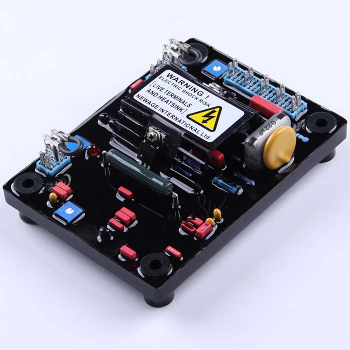 2pcs Black Automatic Voltage Regulator AVR SX460 for Generator+red capacitor fast shipping2pcs Black Automatic Voltage Regulator AVR SX460 for Generator+red capacitor fast shipping