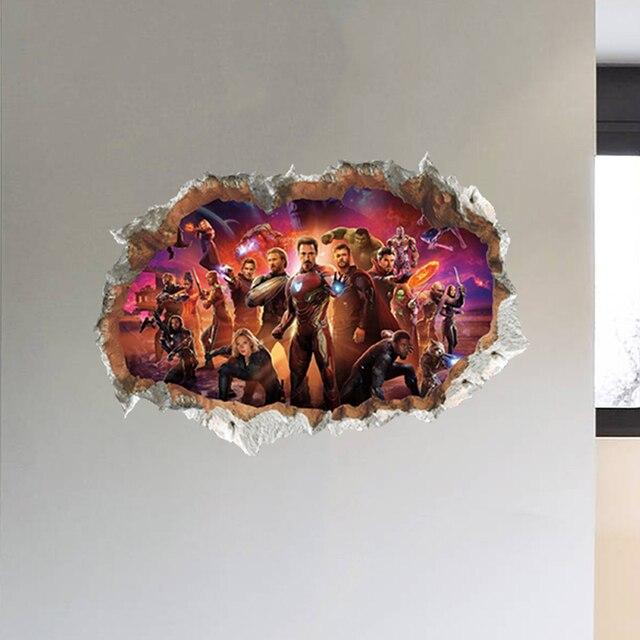 3D Avengers 50*70cm 6
