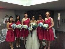Maid Of Honor Dresses For Weddings Coral Colored Bridesmaid Wedding Guest Dress vestido de dama de
