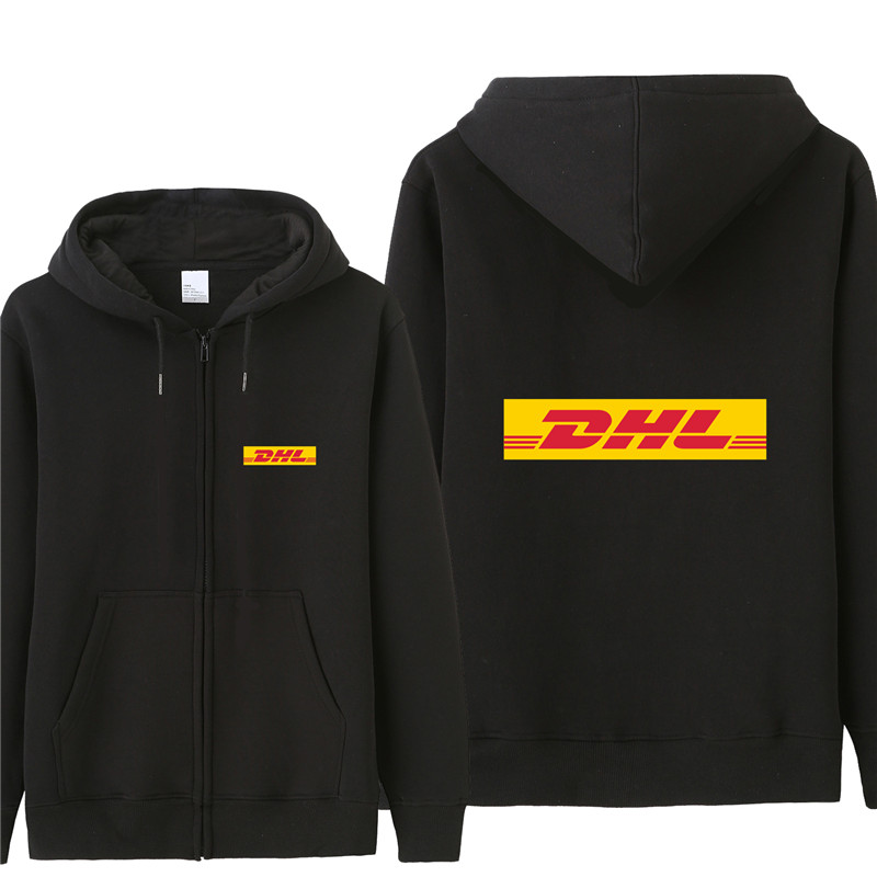 New DHL Sweatshirt Hoodies Men Autumn Coat Pullover Fleece Jacket Unisex Man DHL Sweatshirts HS-058