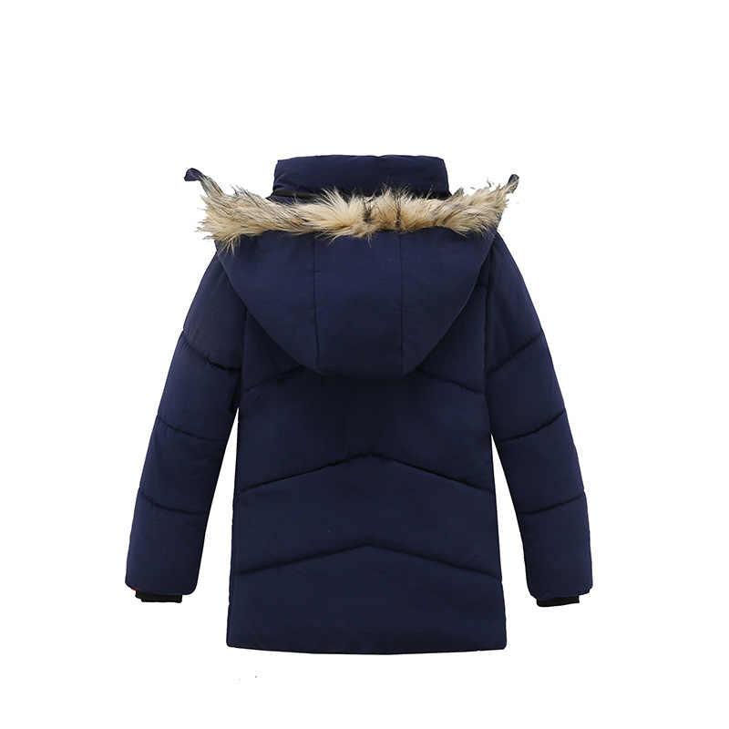 ชายเสื้อ 2018 เสื้อแจ็คเก็ตฤดูหนาวเสื้อผ้าเด็กคุณภาพสูงเด็กทารก Hooded แจ็คเก็ตอุ่นสำหรับเด็ก Outerwear
