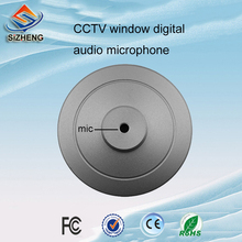 SIZHENG Mini digital Window cctv audio monitoring low noise security systems catch the clear voice for bank