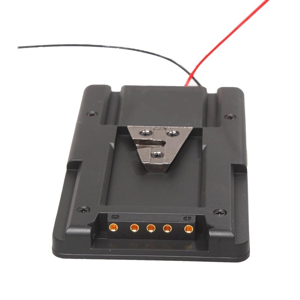 V-Lock V-mount Battery Adapter Plate To Converter for HDV DSLR Rig Power Supply S-GP V-Type