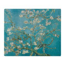 Van Gogh Almond Blossoms Soft Fleece Throw Blanket Throw on Sofa Bed Plane Plaids Solid Bedspreads Home Textile