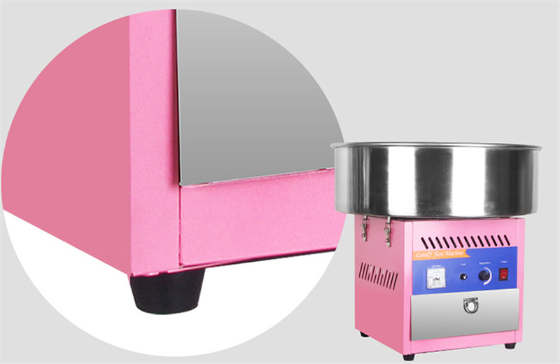 HTB1KA9lPAvoK1RjSZFwq6AiCFXaV - Free shipping smaller table cotton candy machine small machine make big business cotton floss machine