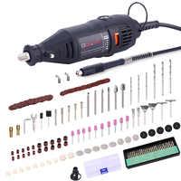GOXAWEE Elektrische Mini Hand Bohrer Dreh Werkzeuge Metall Holz Stecher Grinder Polieren Maschine Für Dremel 4000 Power Tools