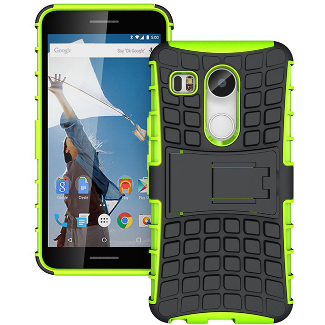 buy online 8a38e a13d8 US $2.99 |Rugged Armor Phone Case for Google Nexus 5X Case for Nexus 5X  H790 H791 Shockproof Hard Silicone Back Cover For Google Nexus 5 X-in  Fitted ...