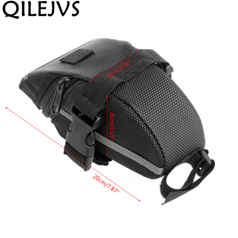 Outdoor Bike Bicycle Cycling Saddle Bag Tail Rear Pouch Seat Storage,Waterproof