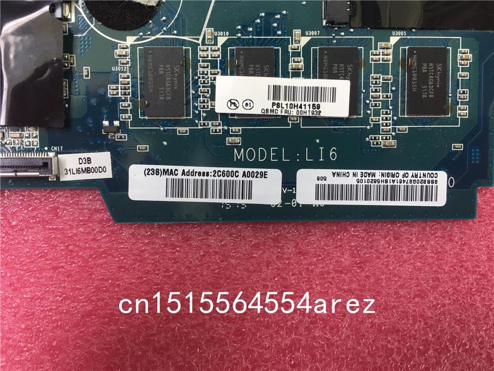 Laptop Lenovo ThinkPad 11E Motherboard Mainboard WIN,M-5Y10c,UMA,4GB 00HT932