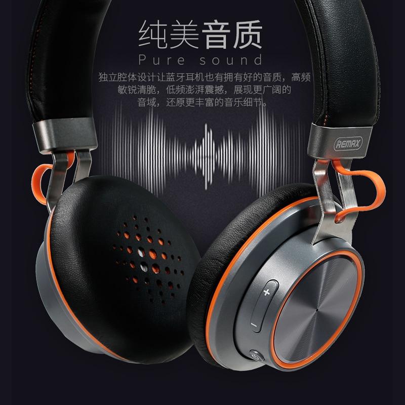 Auricular Bluetooth inalámbrico Estéreo Remax 195HB Auricular - Audio y video portátil - foto 5