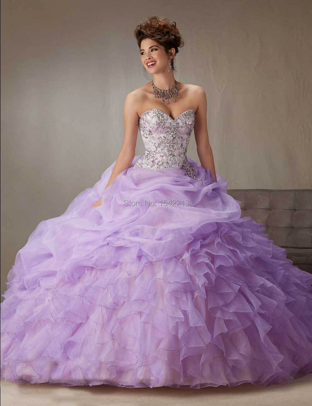 Online Get Cheap Light Purple Quinceanera Dresses -Aliexpress.com ...