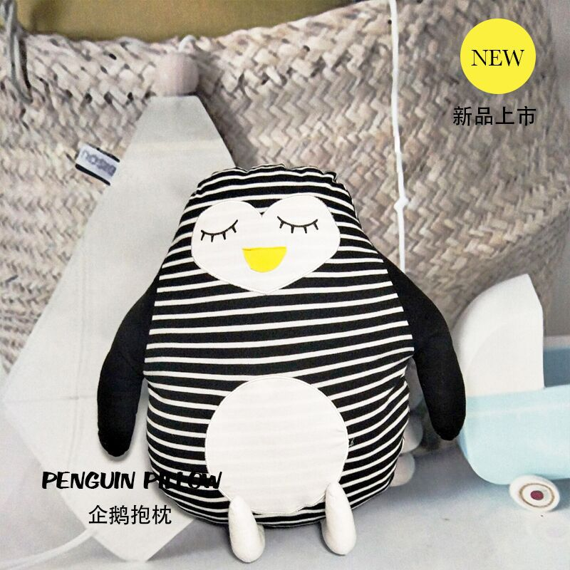 cushion pillow for children penguin pillows doll toys adorkable animals bedding pillow baby birthady gifts home bed decor a107