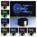 Luminarias Luzes Luz Da Noite Da Lâmpada 3D de Star Wars em 3D das Crianças USB nightlight Led Night Lights Robô 3D Led Ano novo decoração