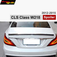 Aile de voiture de becquet de coffre de Fiber de carbone de Mercedes W218 pour les véhicules de classe CLS de Benz 2012-IN CLS350