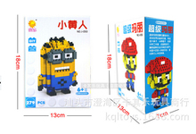 LOZ Blocks Diamond Building Blocks Action Figure The Avengers Minions Pokemon Mario Spongebob Mickey 3D Bricks Toy all 20 models