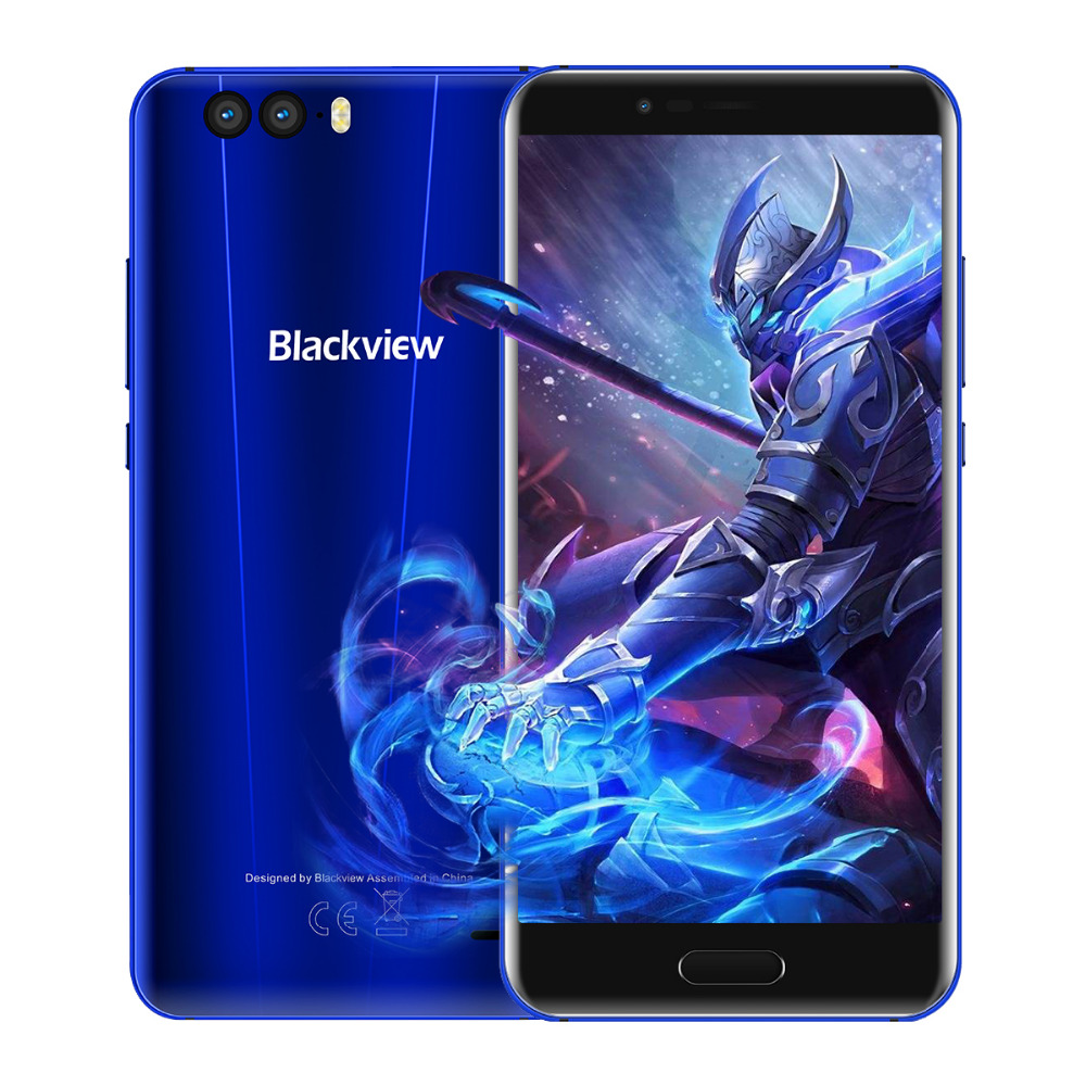 "Blackview P6000 4G LTE Smartphone Helio P25 6GB RAM 64GB ROM 5.5""FHD 21MP 6180mAh Big Battery Android 7.1 Face ID Mobile phone"