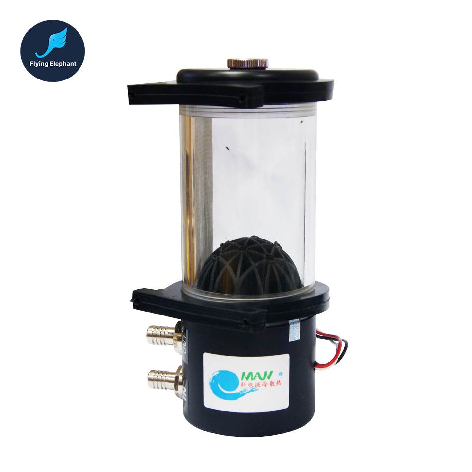 Electricity Water-cooled Water pump + Cylinder Acrylic Water Tank pump water-cooled suit and DDC pump comparable 6162 63 1015 sa6d170e 6d170 engine water pump for komatsu