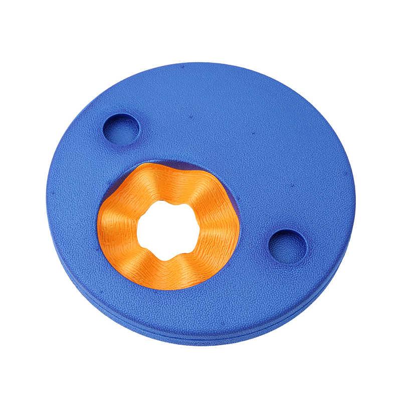 6Pcs EVA 폼 수영 디스크 팔 밴드 플로팅 슬리브 풍선 풀 플로트 보드 아기 수영 연습 원형 반지