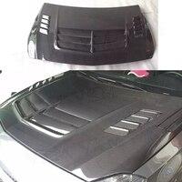 Класс углеродного волокна передний бампер двигатель вытяжки крышка планки для Mercedes Benz A180 A200 A250 AMG A45 13 16