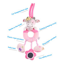 Baby Rattles Mobiles Learning Educational Toy For Baby Toddlers Hanging Bell Crib Rattle Toy For Stuffed Stroller