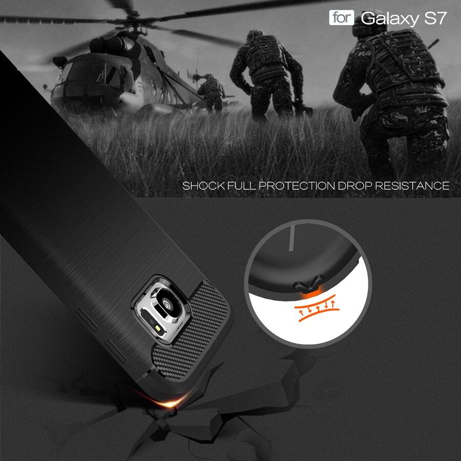 Anti mengetuk Batal Pelindung Kasus Untuk Samsung galaxy Kasus S7 - Aksesori dan suku cadang ponsel - Foto 6