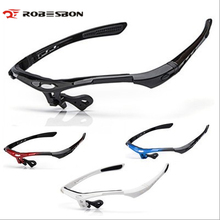 ROBESBON DIY Cycling Sunglasses Frame Men Women UV400 Polarized Eyewear Outdoor Sports Mountain Bike Oculos Ciclismo