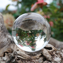5a5ba4954bb Glass Ball Artificial Crystal Healing Glass Ball Sphere Decoration Chinese  Style Feng Shui Decorating Ball 60mm 80mm