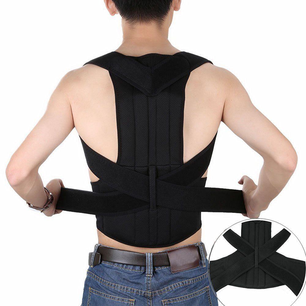 Shoulder Support Posture Correction Belt for Men Women Magnetic Corset Back Posture Corrector Brace Back Students AFT-B003  back posture correction belt for children beige