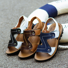 Fashion Summer Casual Leather Boy's Sandals