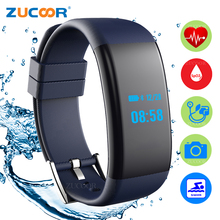Smart Браслет Группа Плавание часы Приборы для измерения артериального давления кислорода Водонепроницаемый сердечного ритма Bluetooth Камера для IOS Android Для мужчин Для женщин