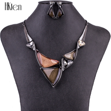 MS1504772 Fashion Jewelry Sets High Quality Necklace Sets For Women Jewelry Multicolored Crystal Resin Unique Design Party Gift