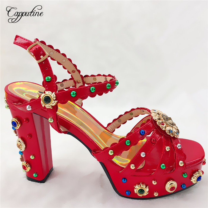 Excellent wedding/party high heel sandal shoes nice matching for lady dress CFS12 in red, many color Excellent wedding/party high heel sandal shoes nice matching for lady dress CFS12 in red, many color