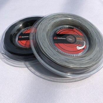 1 Gran carrete ZARSIA de nailon raqueta de tenis cuerdas de raqueta de tenis 1,35mm 12 M