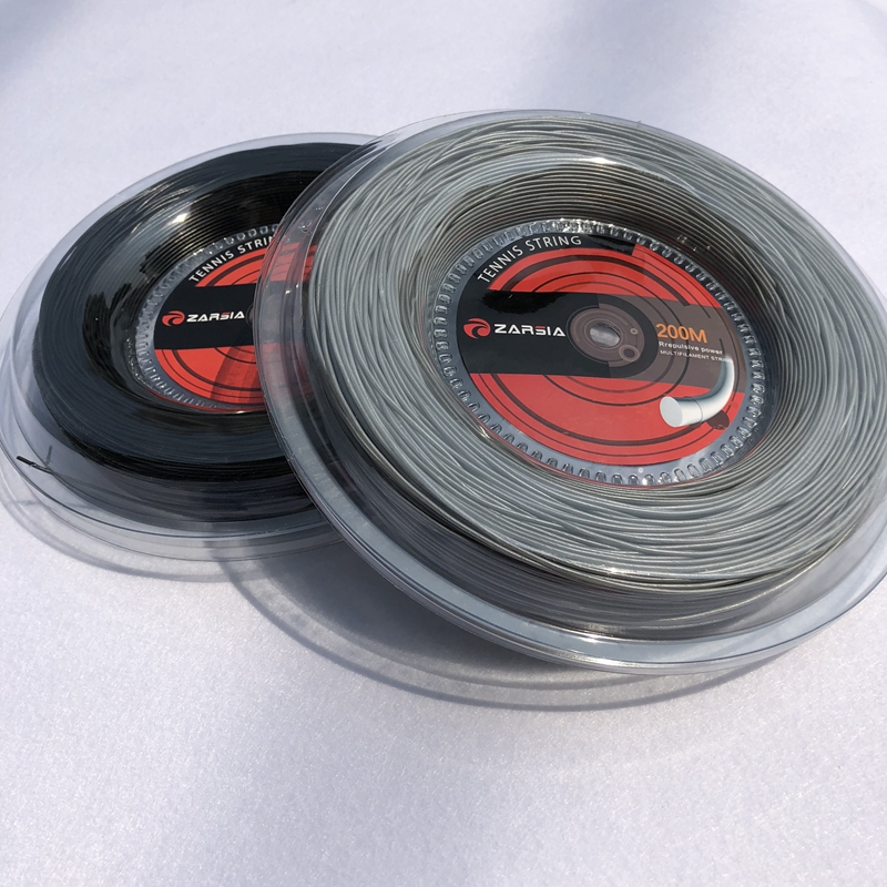 1 big Reel ZARSIA Nylon Tennis racket Strings tennis string tennis racket strings 1.35mm 12M zarsia 200m flash nylon tennis string 16g 1 35mm multifilamen tennis rackets string squash strings synthetic tennis strings