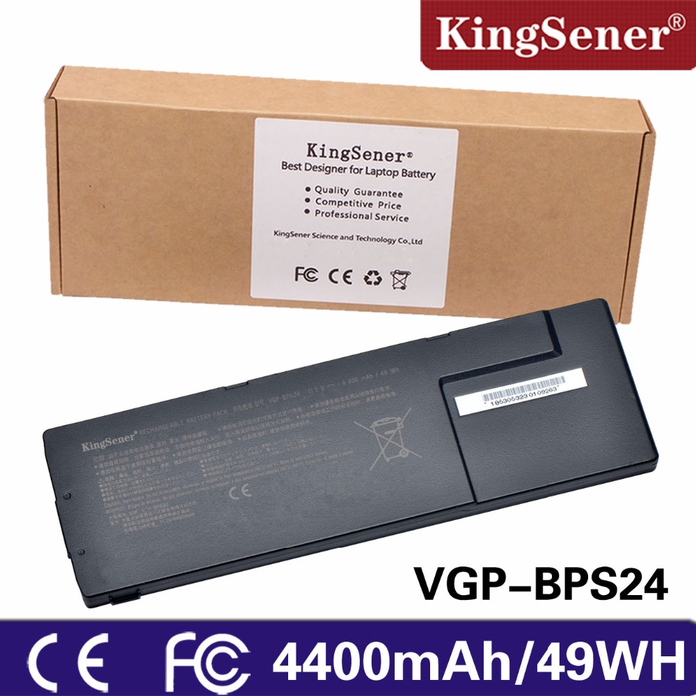 цена на KingSener New VGP-BPS24 Laptop Battery For Sony VGP-BPL24 BPS24 For VAIO SA/SB/SC/SD/SE VPCSA/VPCSB/VPCSC/VPCSD/VPCSE Series