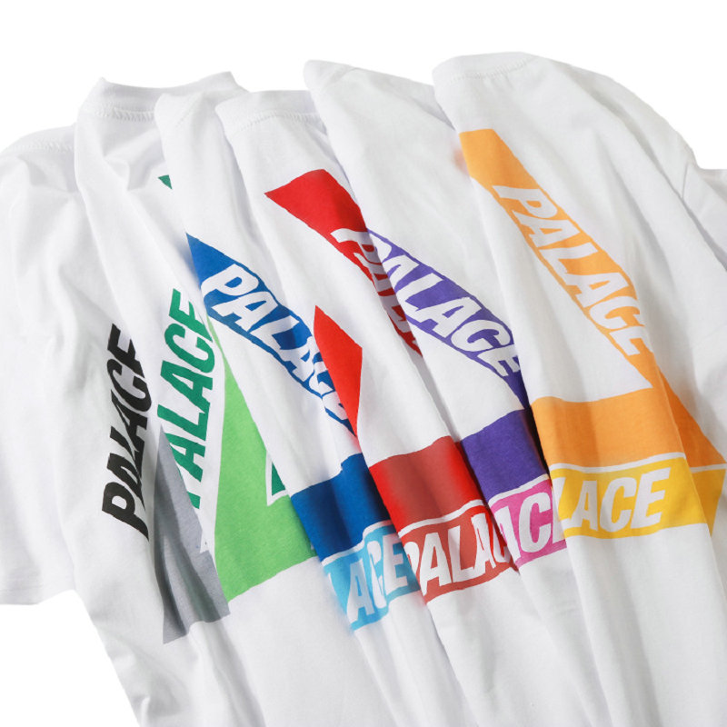 Palace   t     shirt   streetwear   t  -  shirt   cotton vogue   t     shirt   summer   t     shirt   women new arrivals couple   shirt   Summer short sleeve