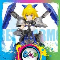 CMT Pretty Armor Saber Wing Zero robot mobile suit MS Girl Plastic Model Kit Anime Toys Figure