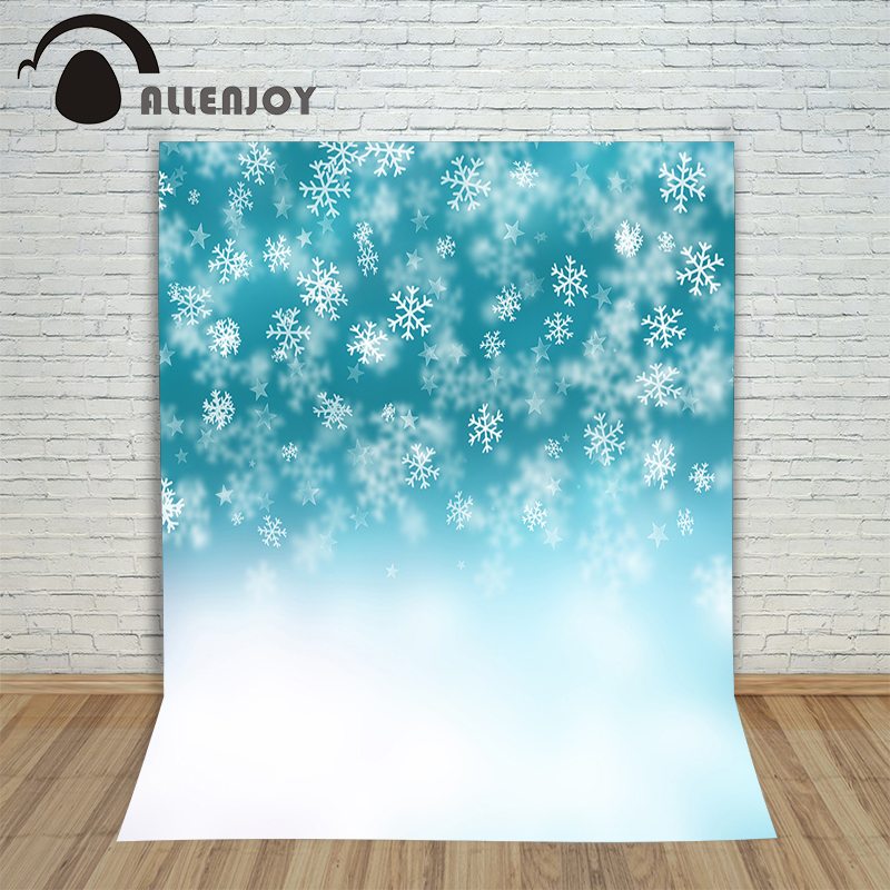 Christmas backgrounds for photography Snowflake winter star bokeh new year Background photographic studio new fabric