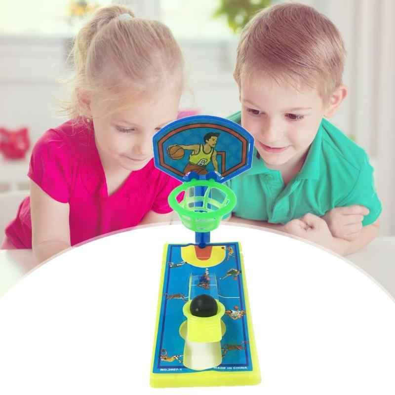1 Pza Mini Pocket Finger Basketball Desktop máquina de disparo antiestrés descompresión niños juguete Parent-child juegos interactivos