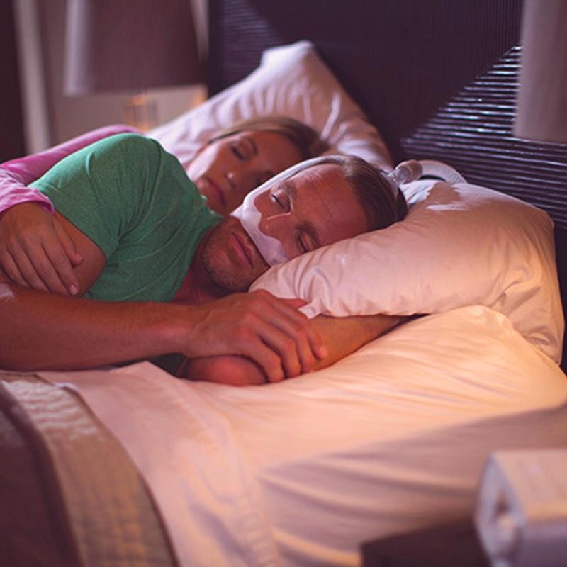 Masque Nasal Anti ronflement aide au sommeil sous le nez masque Nasal Anti ronflement masque de sommeil appareil respiratoire pour appareil d'apnée du sommeil