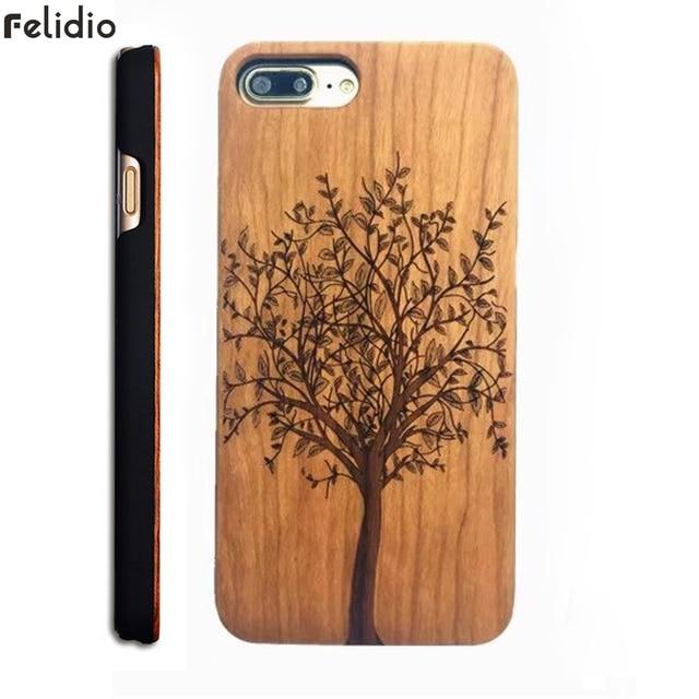 carcasa madera iphone 8 plus