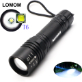 LOMOM 1000 Lumens 4 Modes CREE T6 LED Flashlights Torches Rechargeable 18650 Lighting Lamp 10W Powerful bike light