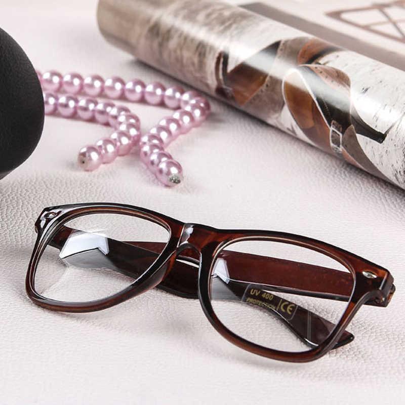 ba2914ae152 Fashion Nerd Clear Lens Transparent Glasse Frames Geek Eyeglasses frames  Men Women Optical Glasses Frame Full