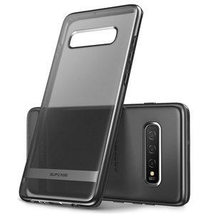 Image 2 - Pour Samsung Galaxy S10 Plus étui 6.4 pouces SUPCASE UB Metro Premium mince souple étui en TPU plaqué lignes galvanisées étui couverture arrière