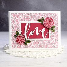 Eastshape Flower Rose Metal Cutting Dies for DIY Scrapbooking Blossom Leaves Die Cut Card Making Craft Embossing New 2019