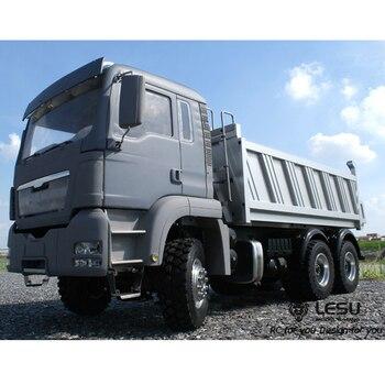 1/14 Dump Truck MAN (TGS) Full Drive 6X6 Hydraulic Dump Truck High Torque Electric Model LS-20130012 RCLESU Tamiya Truck