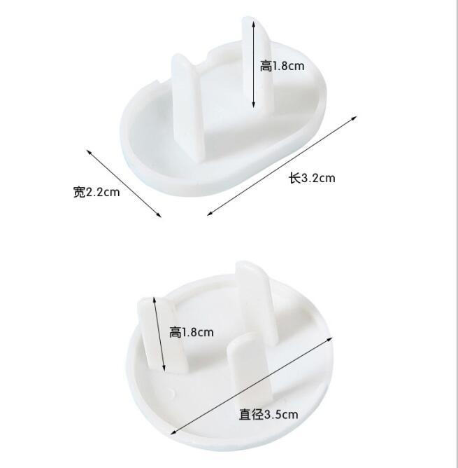 10pcs Baby Safety Outlet Plug Cover gegen elektrische Schutz Steckdosen Kappen